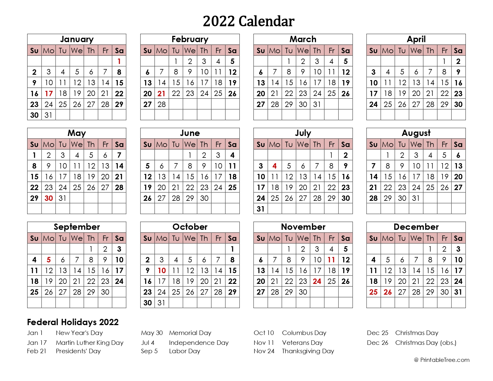 2022-calendar-one-page