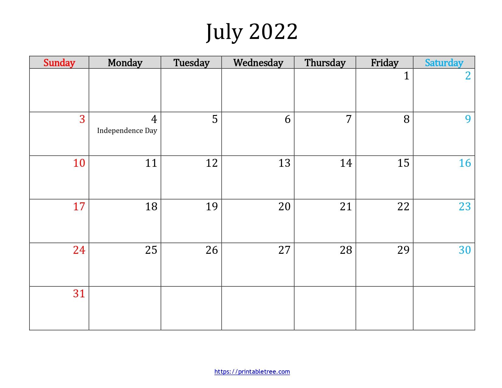 July-2022-Calendar Template-03